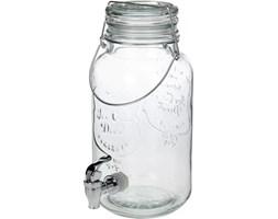 Słój z kranem i pokrywą - dystrybutor napojów, 4 l