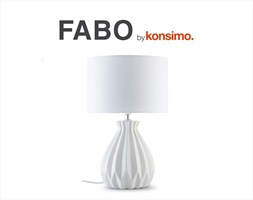 FABO Lampa stołowa / KONSIMO.
