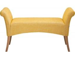 Kare Design Ławka Motley Rhythm żółta - 78906