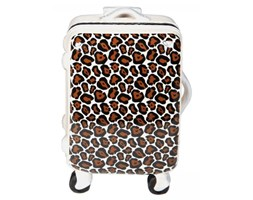 Kare Design Skarbonka Suitcase Fashion brązowa - 34673pantera