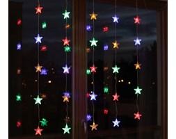 Bulinex :: Kurtyna świetlna LED gwiazdki 25L kolorowe