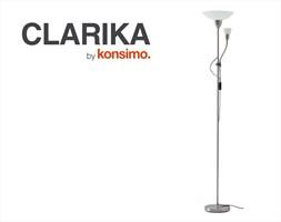 CLARIKA Lampa podłogowa / KONSIMO.