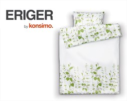 ERIGER Komplet pościeli 140x200 / KONSIMO.
