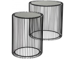 Kare Design Stolik Kawowy Wire II (2/Set) - 79578