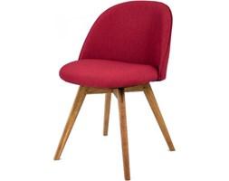 Tenzo Krzesło Ally Bess czerwone nogi drewniane - AllyBess-CZE-D