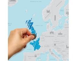 Mapa/zdrapka Europy Luckies of London
