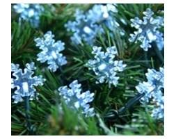 """Bulinex :: Oświetlenie dekoracyjne """"Płatki śniegu"""" 30L białe"""