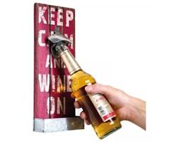 Kare Design Otwieracz do Butelek Loft Kitchen czerwony - 33558