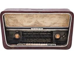Kare Design Skarbonka Radio - 35354