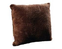 Poduszka dekoracyjna z mikrofibry 40x40 czekoladowa