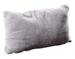 Poduszka dekoracyjna z mikrofibry 40x60 szary