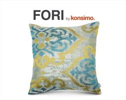 FORI Poszewka na poduszkę 45x45 cm / KONSIMO.