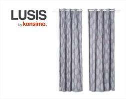 LUSIS Zasłona 140x260 cm / KONSIMO.