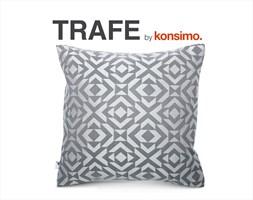 TRAFE Poszewka na poduszkę 45x45 cm / KONSIMO.