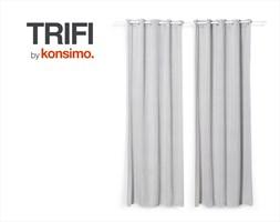 TRIFI Zasłona 140x260 cm / KONSIMO.