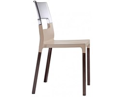 SCAB Design Krzesło Natural Diva beżowe - 2815-FW-215