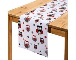 Trade concept Bieżnik na stół Sowy, 33 x 130 cm