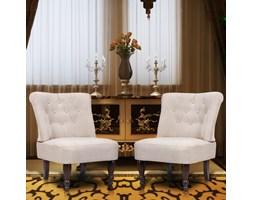 240288 Fotele francuskie, kremowy x2