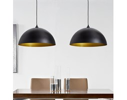 241113 Czarna lampa wisząca x 2
