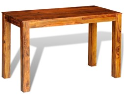 241650 Stół z litego drewna 120 x 60 x 76 cm