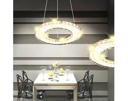 242346 Okrągła lampa wisząca LED 13 W z kryształkami