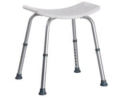400428 Aluminiowy stołek pod prysznic