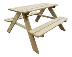 41701 Drewniana ławka piknikowa dla dzieci 89 x 89,6 x 50,8 cm