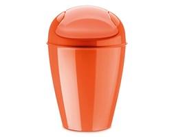 Kosz na śmieci Koziol Del M pomarańczowo-czerwony kod: KZ-5775633 - do kupienia: www.superwnetrze.pl