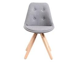 Krzesło Norden Star pikowane szare kod: DK-64588 - do kupienia: www.superwnetrze.pl