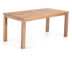 Stylowy stół dębowy jasnobrązowy 180x85x78 cm MAXIMA
