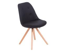 Krzesło Norden Star pikowane czarne
