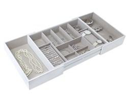 Pojemnik na biżuterię wkład do szuflady Stackers L
