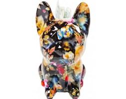 Kare Design Skarbonka Dog Fiore czarna - 39334d