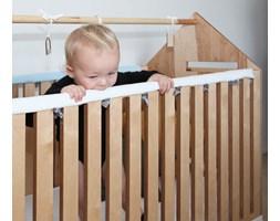 ochraniacz na łóżeczko - ząbkowanie