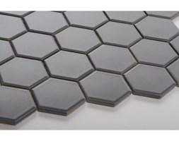 Hexagon duży, ciemno szary, matowy