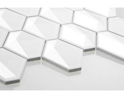 Diamond biały, szkliwiony - kolekcja MODERN