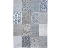 Dywan Vintage Patchwork (szaro niebieski) - Bruges Blue 8981 60x90 cm
