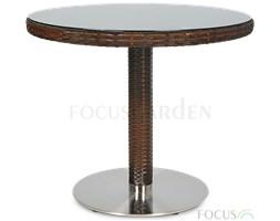 Stół POLINA/MERANO fi80 Brown