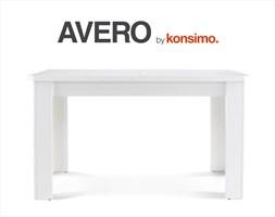 AVERO Stół rozkładany 135-175x77x80 cm / KONSIMO.