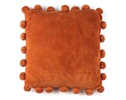 BO-MA Poduszka jasiek Pompon pomarańczowy, 45 x 45 cm,