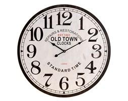 Drewniany zegar ścienny OLD TOWN, Ø 60 cm