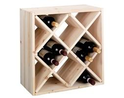 Drewniany stojak na wino, 12 butelek, ZELLER