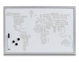 Tablica magnetyczna WORLD LETTERS, 60x40 cm, ZELLER