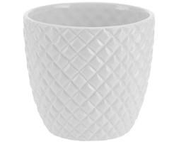 Donica ceramiczna, osłona na donicę - Ø 15 cm