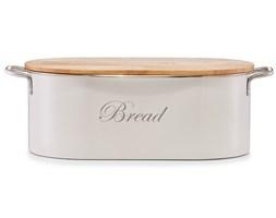 Metalowy chlebak VINTAGE z bambusową deską do krojenia, 2w1, ZELLER