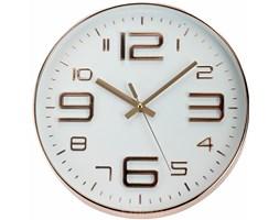 Okrągły zegar ścienny, miedziany - Ø 30 cm