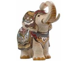 Słoń indyjski biały