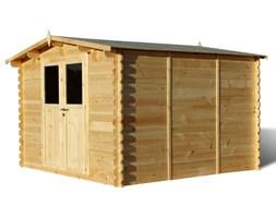 41590 Drewniana komórka 3 x 3 m, ściana 28 mm