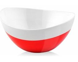 Miska Livio Duo owalna czerwona 15 cm Vialli Design