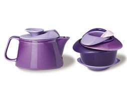 PO: Trendy zestaw do herbaty, fiolet P636